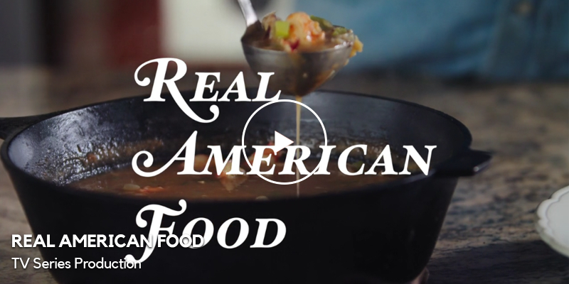 TV Series Production Video For Real American Food - Kim Brattain